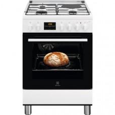 Cuisinière mixte ELECTROLUX - LKM648588W pas cher