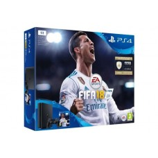 Console SONY PS4 Slim 1To Noire + FIFA 1