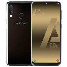 Smartphone sans abonnement SAMSUNG GALAXY A 20 E NOIR pas cher