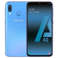 Smartphone sans abonnement SAMSUNG GALAXY A 40 BLEU pas cher
