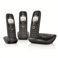 Téléphone résidentiel avec répondeur GIGASET - AS405ATRIONOIR