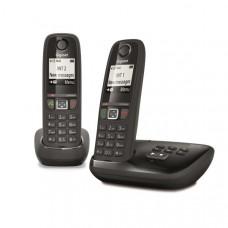 Téléphone résidentiel avec répondeur GIGASET - AS470ADUONOIR pas cher