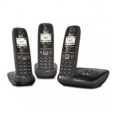 Téléphone résidentiel avec répondeur GIGASET - AS470ATRIONOIR pas cher
