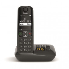 Téléphone résidentiel avec répondeur GIGASET - AS690ANOIR pas cher