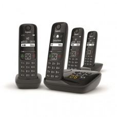 Téléphone résidentiel avec répondeur GIGASET - AS690AQUATTRO pas cher