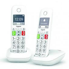 Téléphone résidentiel avec répondeur GIGASET - E290ADUO pas cher