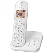 Téléphone résidentiel avec répondeur PANASONIC - KXTGC420FRW pas cher