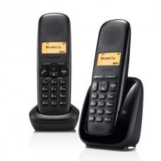 Téléphone résidentiel sans répondeur GIGASET - A150DUONOIR