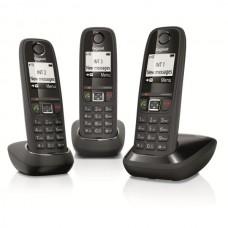 Téléphone résidentiel sans répondeur GIGASET - AS405TRIONOIR